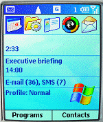 Motorola MPx200 screenshot