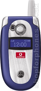 Motorola V550 blue closed