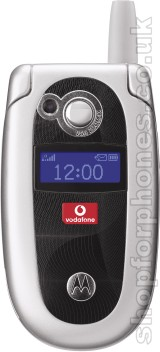 Motorola V550 silver closed