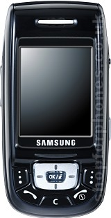 Samsung D500 closed